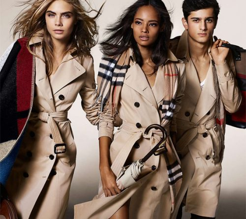 Burberry il trench