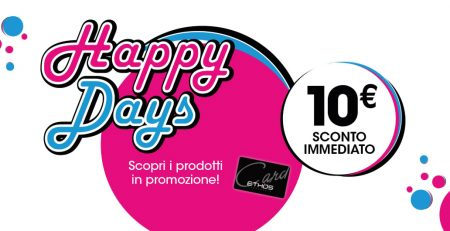 HAPPY DAYS 2020 PROFUMERIE PISELLI SCONTI