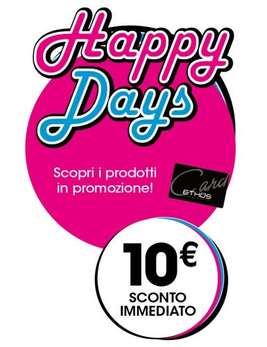 Happy-days-Piselli-Profumerie-Sconti-10€