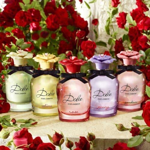 Dolce Rose D&G linea floreale